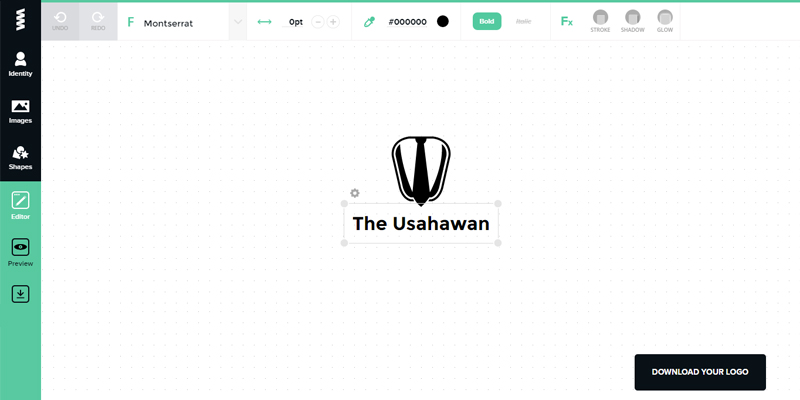 Mereka Logo Menggunakan GraphicSprings