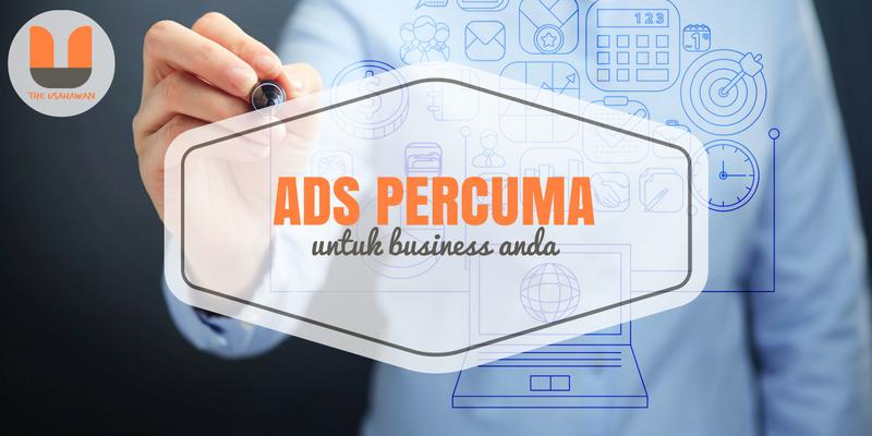 Ads Percuma Untuk Business Anda