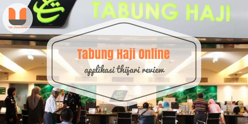 Tabung Haji Online - Applikasi THiJARI Review